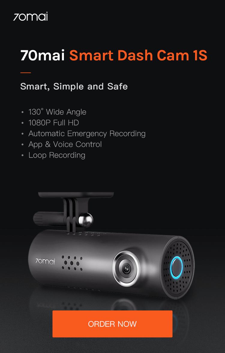 70mai Smart Dash Cam 1S – 70mai